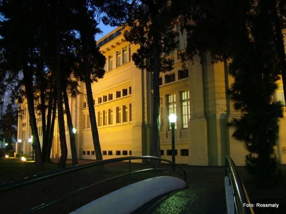 As Thermas Antônio Carlos são o principal balneário de Poços de Caldas.