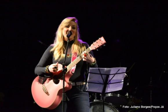 Mariângela fez show na Festa Uai.