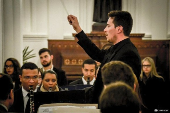 Banda Sinfônica do Conservatório se apresenta nesta sexta-feira, às 20h30.