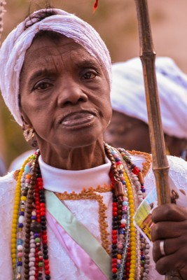 Festa de São Benedito também está registrada nas fotos.