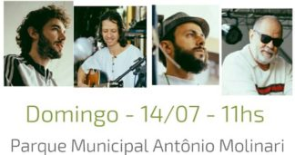 JULHO FEST | Parque Municipal tem música e oficina de gastronomia no domingo