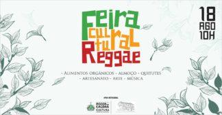 Feira Cultural Reggae tem música, gastronomia e oficinas no domingo