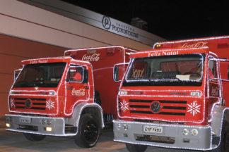 Shopping Poços de Caldas recebe Caravana de Natal Coca-Cola nesta terça-feira