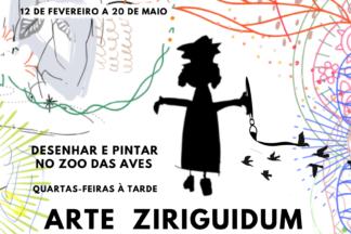 Ziriguidum apresenta: desenho e pintura no Zoo das Aves