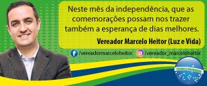 Vereador Marcelo Heitor