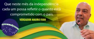 Vereador Mauro Ivan