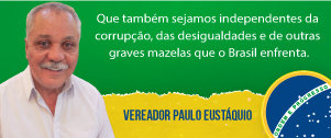 Vereador Paulo Eustáquio