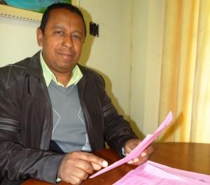 O secretário de Serviços Públicos, José Muniz