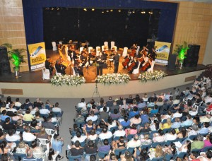 Espaço Cultural da Urca recebe concertos diários.