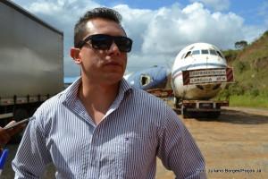 O empresário Thiago Oliveira comprou o avião em 2012