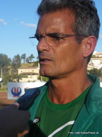 Eugênio Souza é o novo técnico do time.