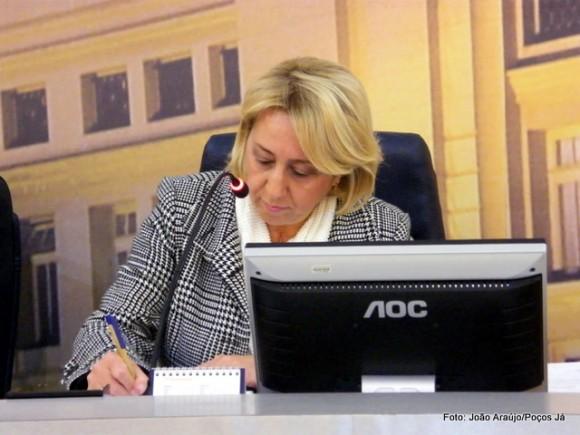 Regina Cioffi aguarda posicionamento do Executivo sobre a arrecadação municipal.