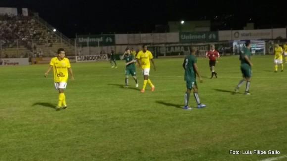 Jogo foi realizado em Poços de Caldas, no Ronaldão.