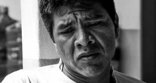 Reginaldo Krenak, de 34 anos, lembra que brincava no Rio Doce quando menino.