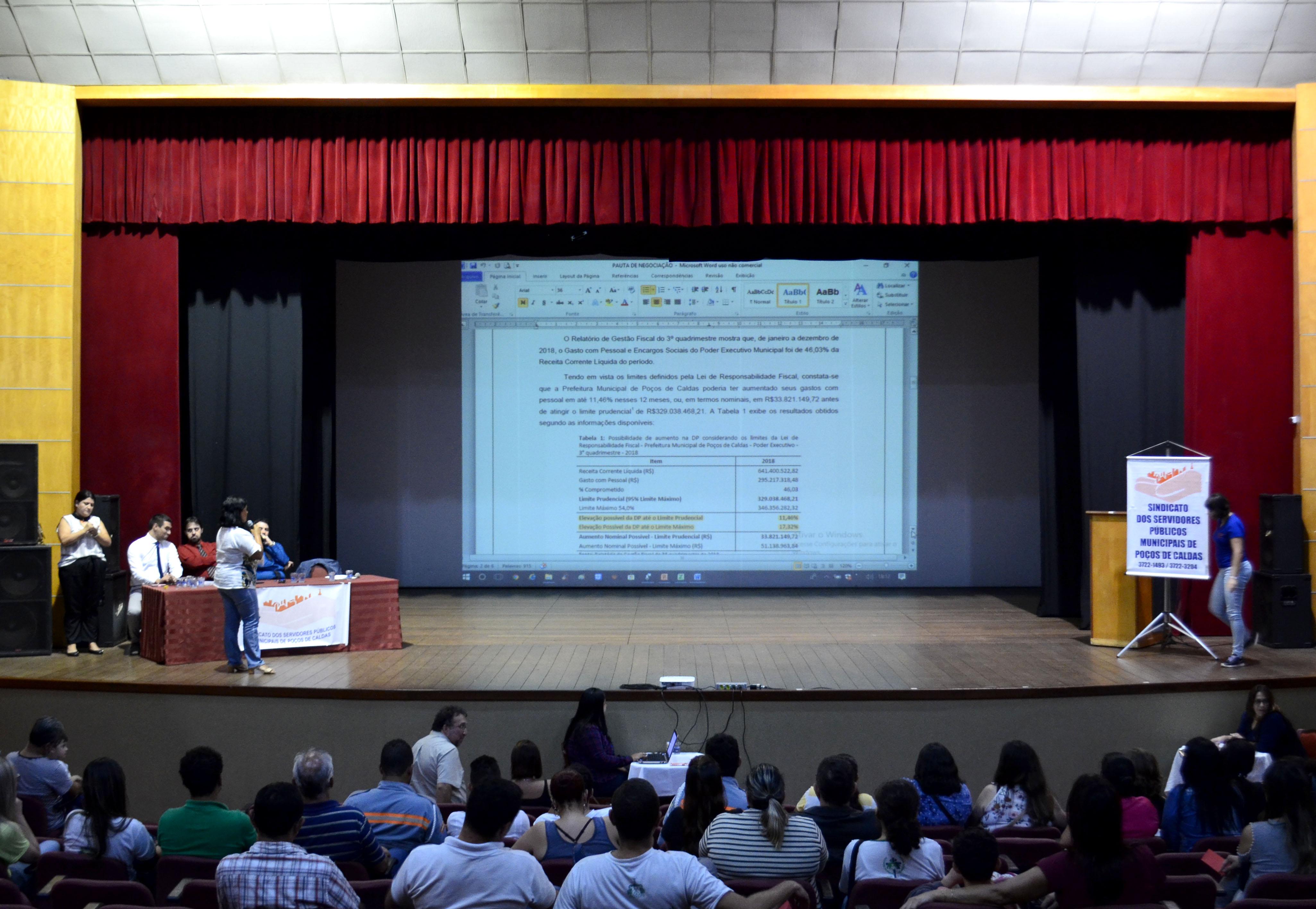 Servidores municipais aprovam Acordo Coletivo 2019/2010