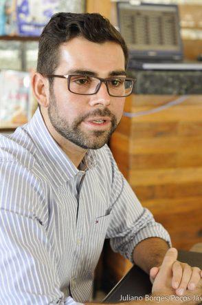 Gustavo Bonafé foi eleito vereador pela primeira vez em 2016.